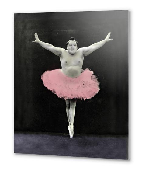 Sumo Ballet Metal prints by tzigone