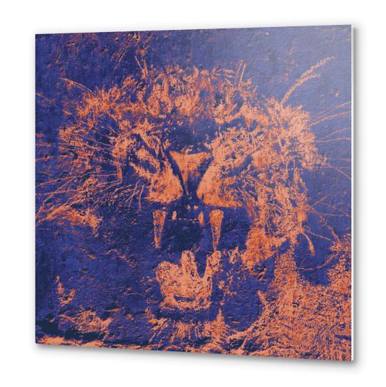 Bichro-Tiger Metal prints by Malixx