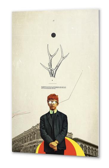 Bright Posture Metal prints by Frank Moth