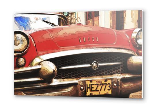 Buick in Cuba Metal prints by fauremypics