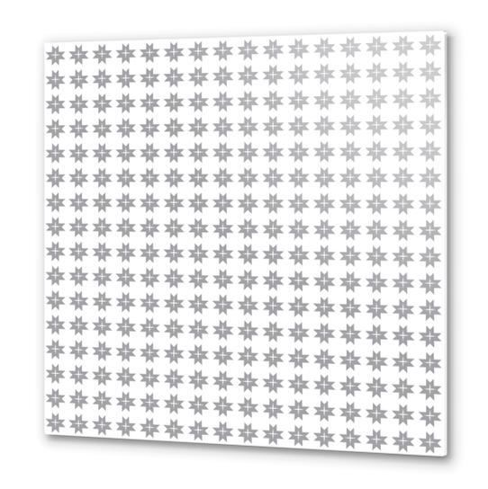 Christams stars Metal prints by PIEL Design