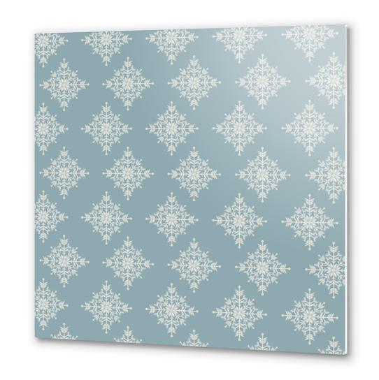 Snowflakes by PIEL Metal prints by PIEL Design
