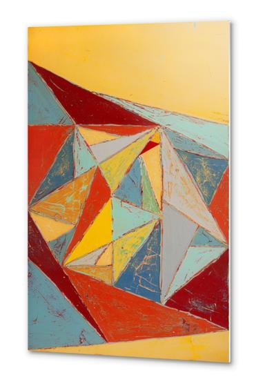 Cristallisation Metal prints by Pierre-Michael Faure