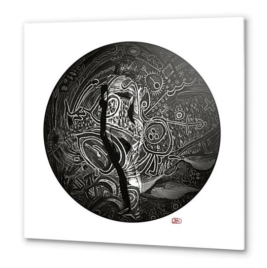 Lina #9 Metal prints by Denis Chobelet