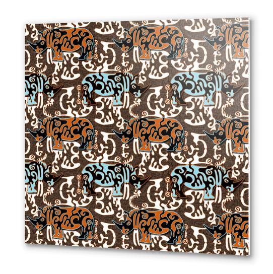 Diceros Bicornis Metal prints by vannina