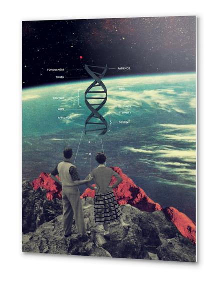 Distance & Eternity Metal prints by Frank Moth