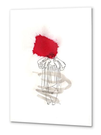 La Diva Metal prints by Pierre-Michael Faure