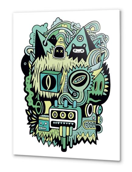 Double Je Metal prints by Exit Man