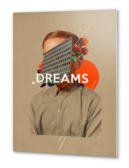 Dreams Metal prints by Frank Moth