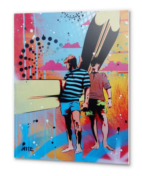 Surf Style- Endless Summer Metal prints by AbcArtAttack