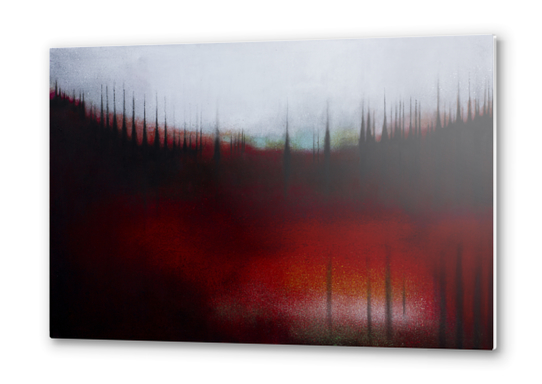 FOREST SOUND Metal prints by db Waterman