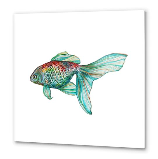 Fish Metal prints by Nika_Akin