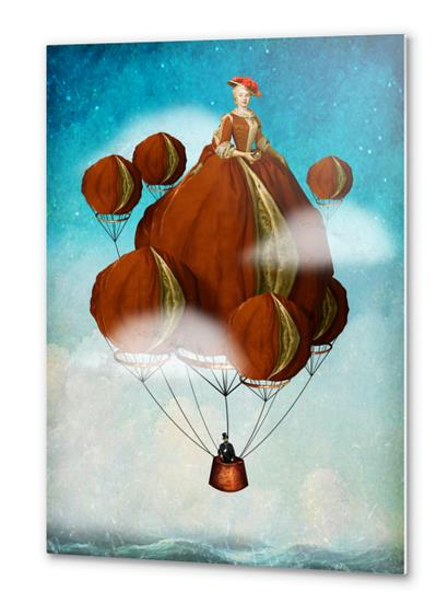 Flying Away Metal prints by DVerissimo