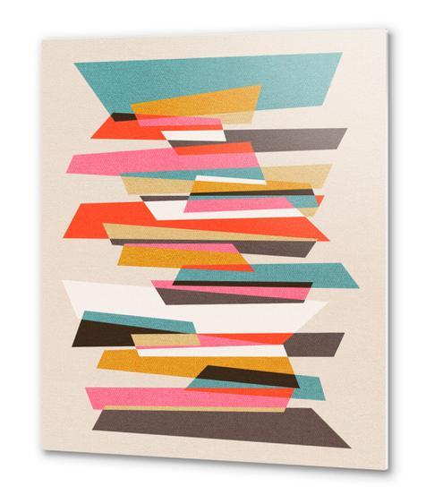 Fragments VII Metal prints by Susana Paz