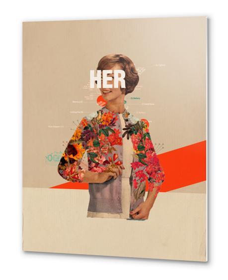 Her Metal prints by Frank Moth