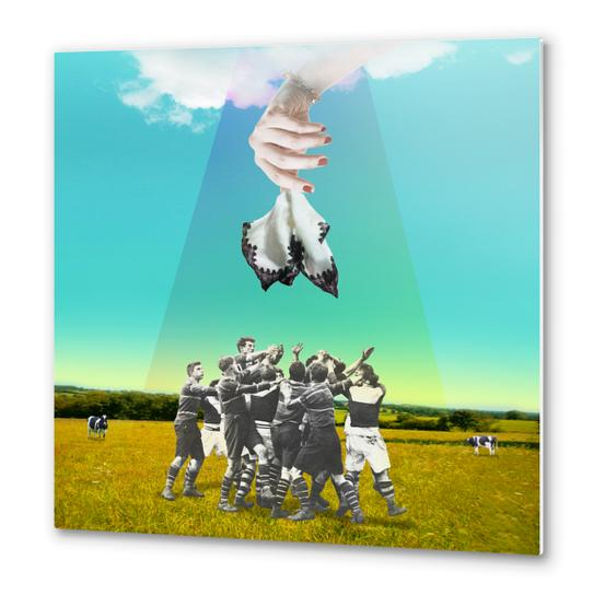 The Handkerchief Metal prints by tzigone