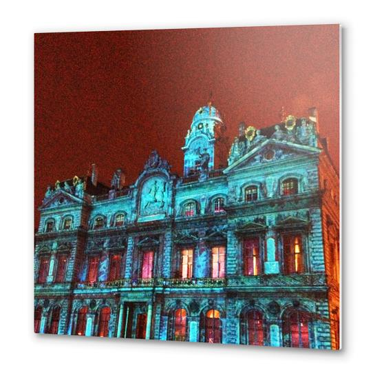 City Hall of Lyon Metal prints by Ivailo K
