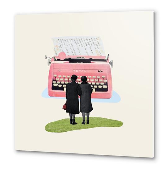 Typewriter Metal prints by Oleg Borodin