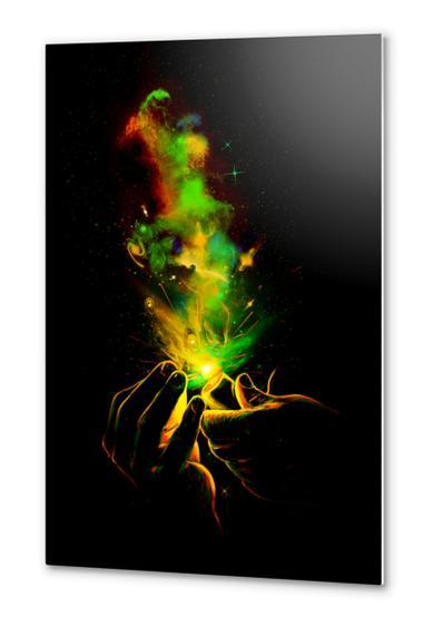 Light Ip Up! Metal prints by Nicebleed