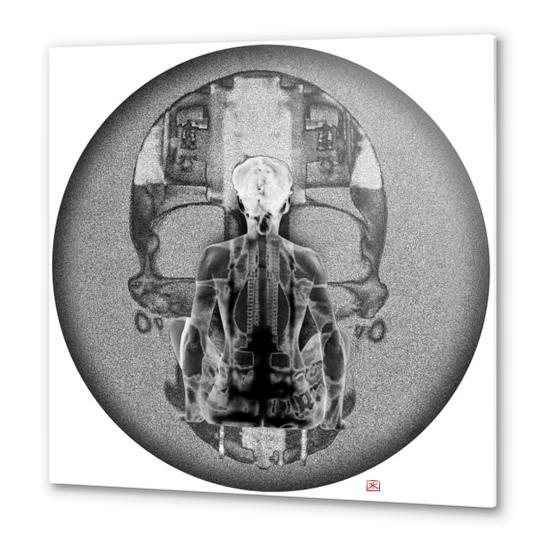 Lina #7 Metal prints by Denis Chobelet