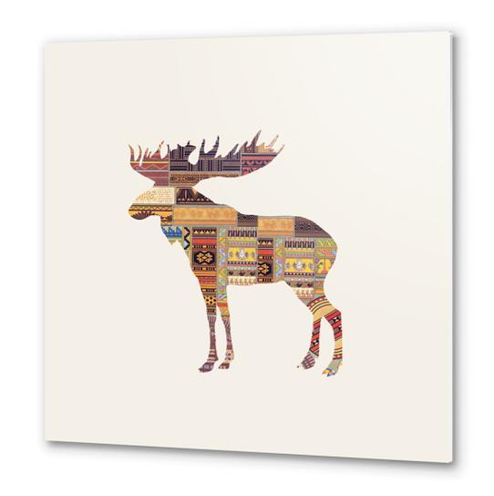 Elk Metal prints by Oleg Borodin