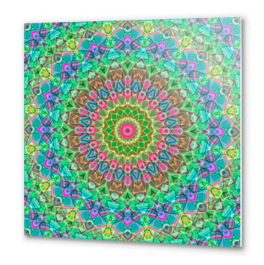 Geometric Mandala G18 Metal prints by MedusArt