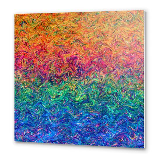 Fluid Colors G249 Metal prints by MedusArt