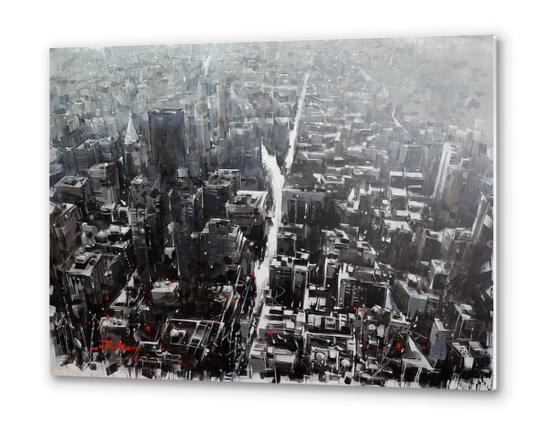 NYcity Metal prints by Vantame