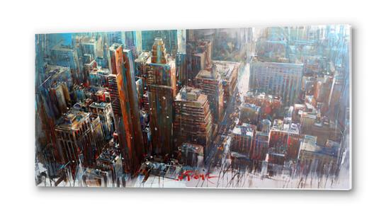 NEX YORK Metal prints by Vantame