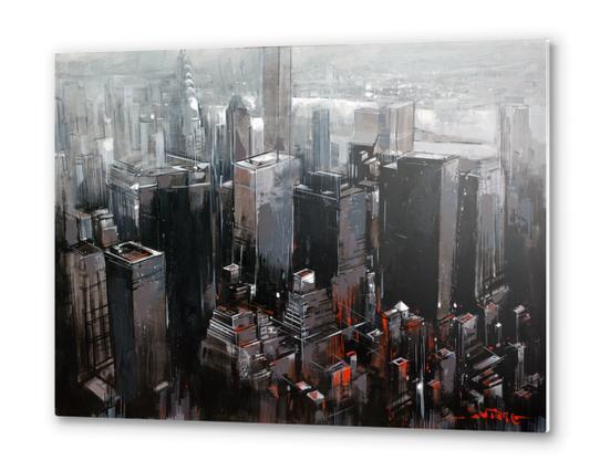 NEW YORK Metal prints by Vantame