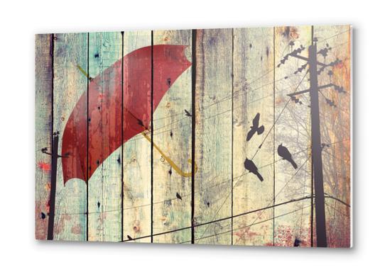 Bird songs Metal prints by Irena Orlov