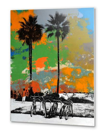 October Heat Wave Metal prints by dfainelli