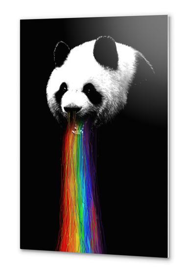 Pandalicious Metal prints by Nicebleed