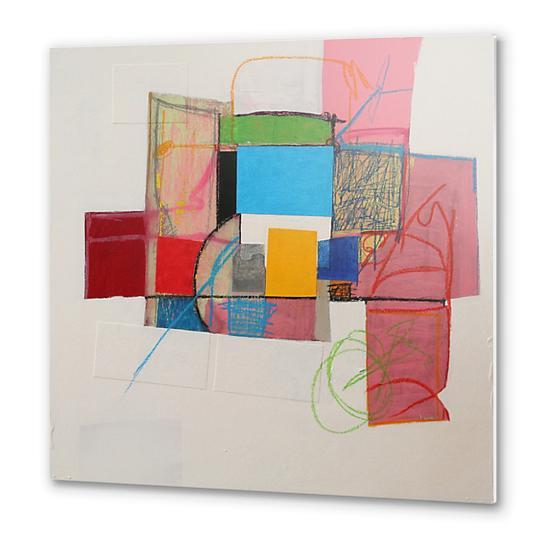 Pink Variations Metal prints by Pierre-Michael Faure