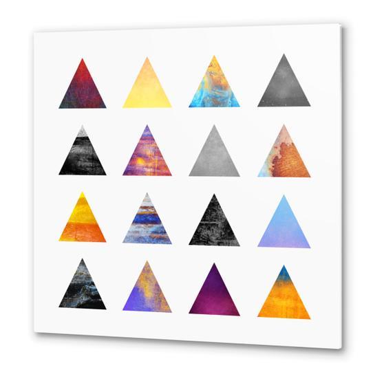Pyramids Metal prints by Elisabeth Fredriksson