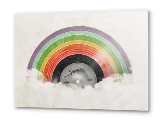 Rainbow Classic Metal prints by Florent Bodart - Speakerine