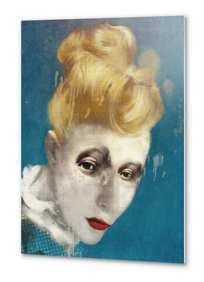 Selfish Jean Metal prints by Sarah Jarrett Art