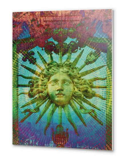 Le Roi Soleil Metal prints by Malixx