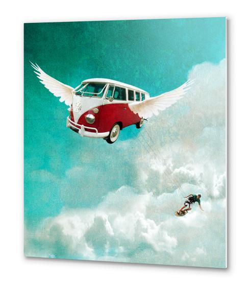 Sky-surf Metal prints by tzigone