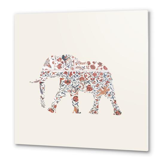 Elephant Metal prints by Oleg Borodin