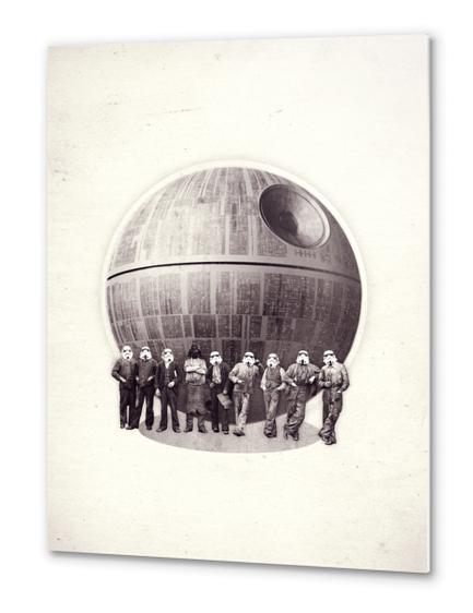 Death Star Metal prints by Oleg Borodin