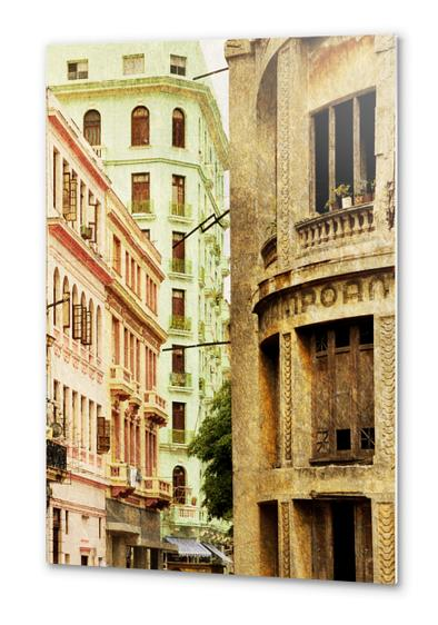 Street In Cuba Metal prints by fauremypics