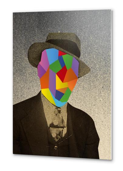 Who's that man? Metal prints by Malixx