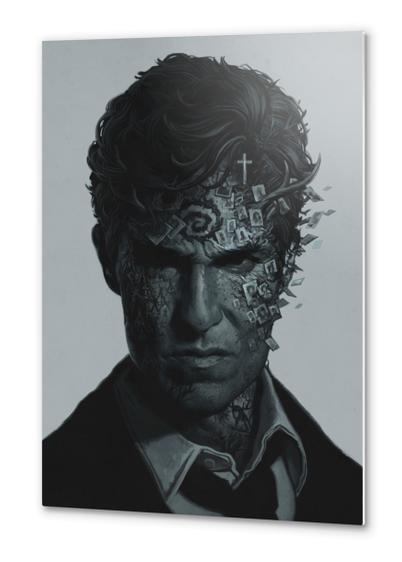True Detective Metal prints by yurishwedoff