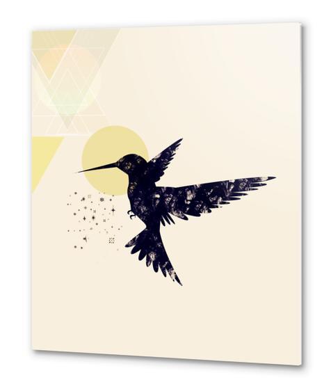 Bird X Metal prints by Amir Faysal