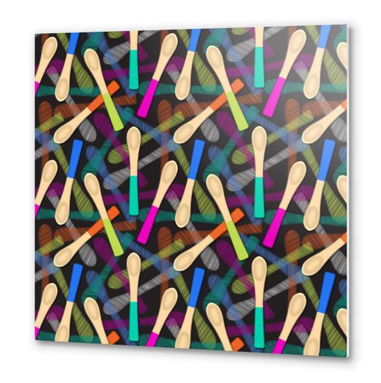 Wood Spoons Metal prints by vannina