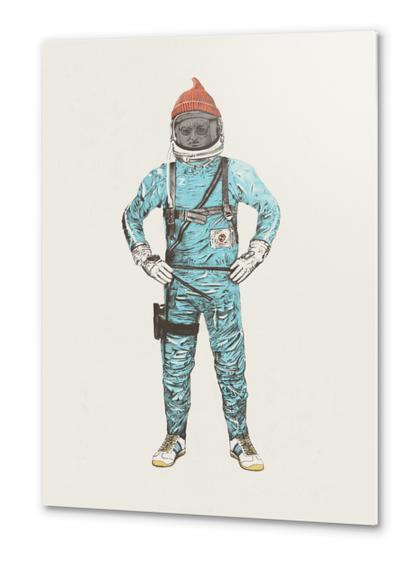 Zissou In Space Metal prints by Florent Bodart - Speakerine