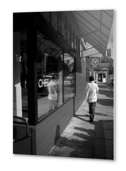 dans la rue Metal prints by fauremypics