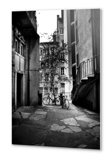 bicycle Metal prints by fauremypics