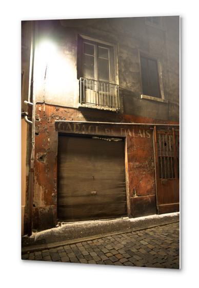 garage du palais Metal prints by fauremypics